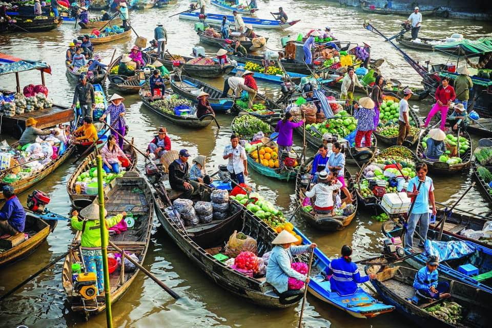 Tour Ghép Miền Tây: Cần Thơ - Chợ Nỗi Cái Răng - Miệt Vườn.