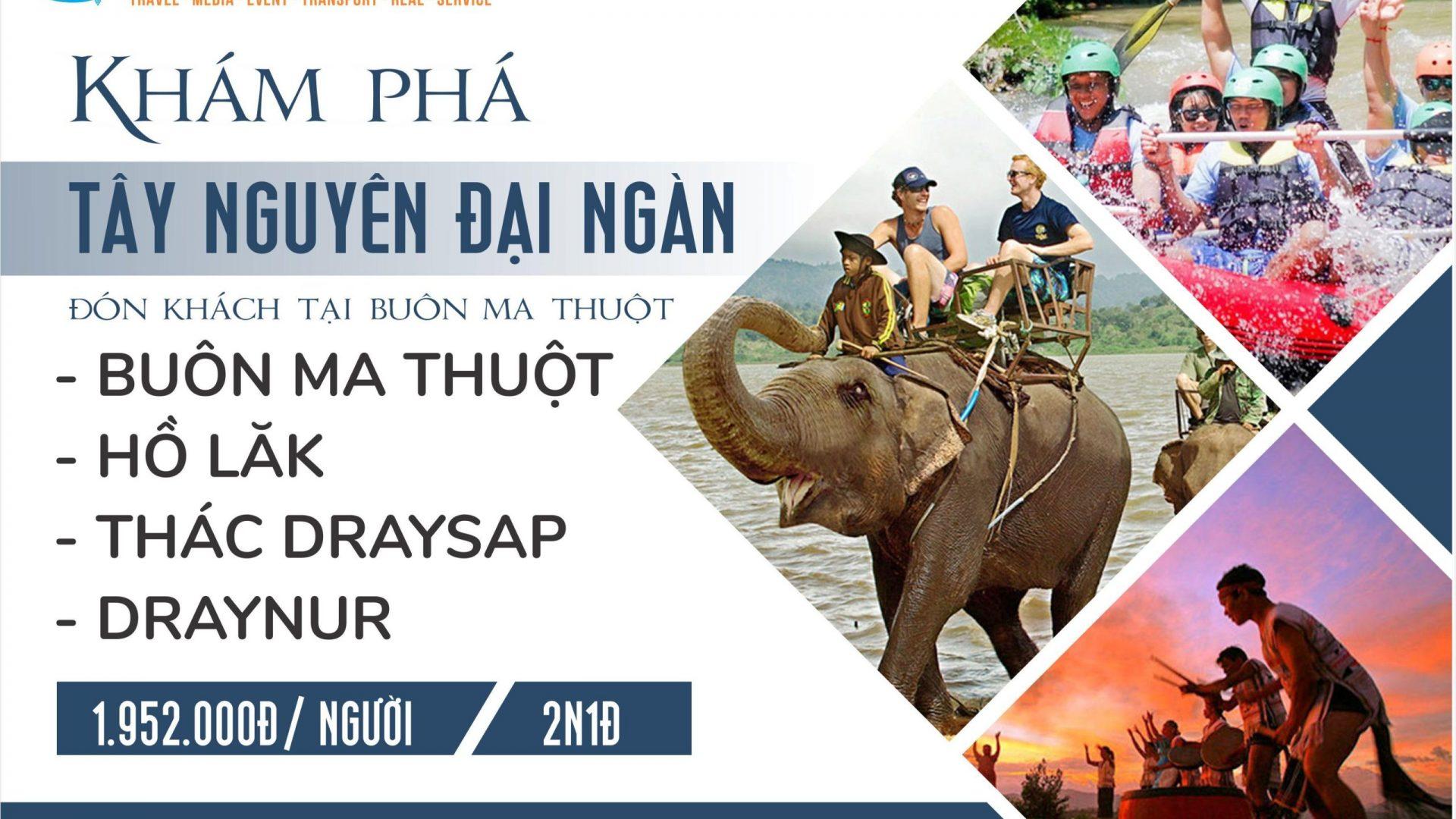 GHEP BUON MA THUOT 2N1D