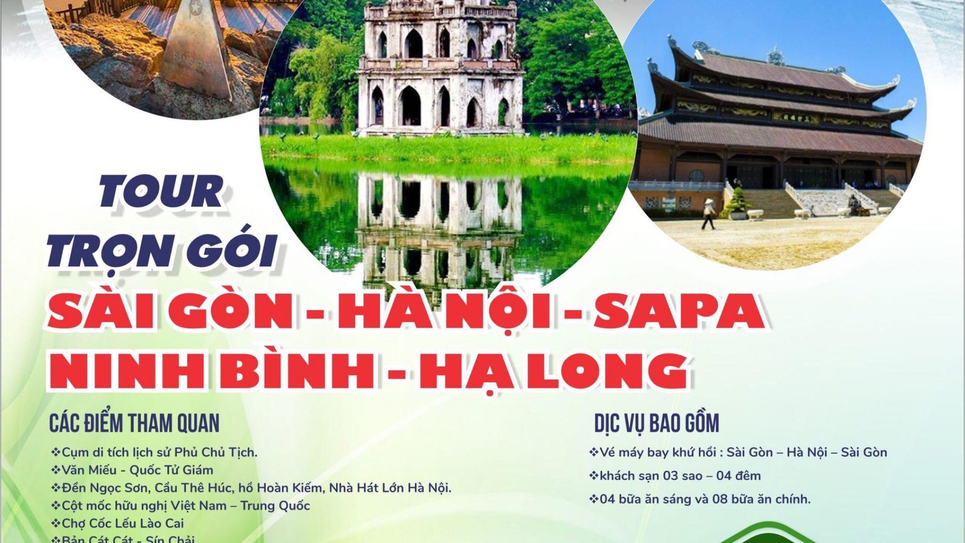Tour Sai Gon Ha Noi Thu tu hàng tuan
